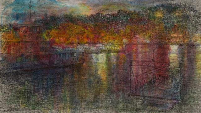 フリーランス画家 外山昇 尾道水道