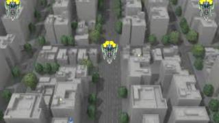 シューティングゲーム画面