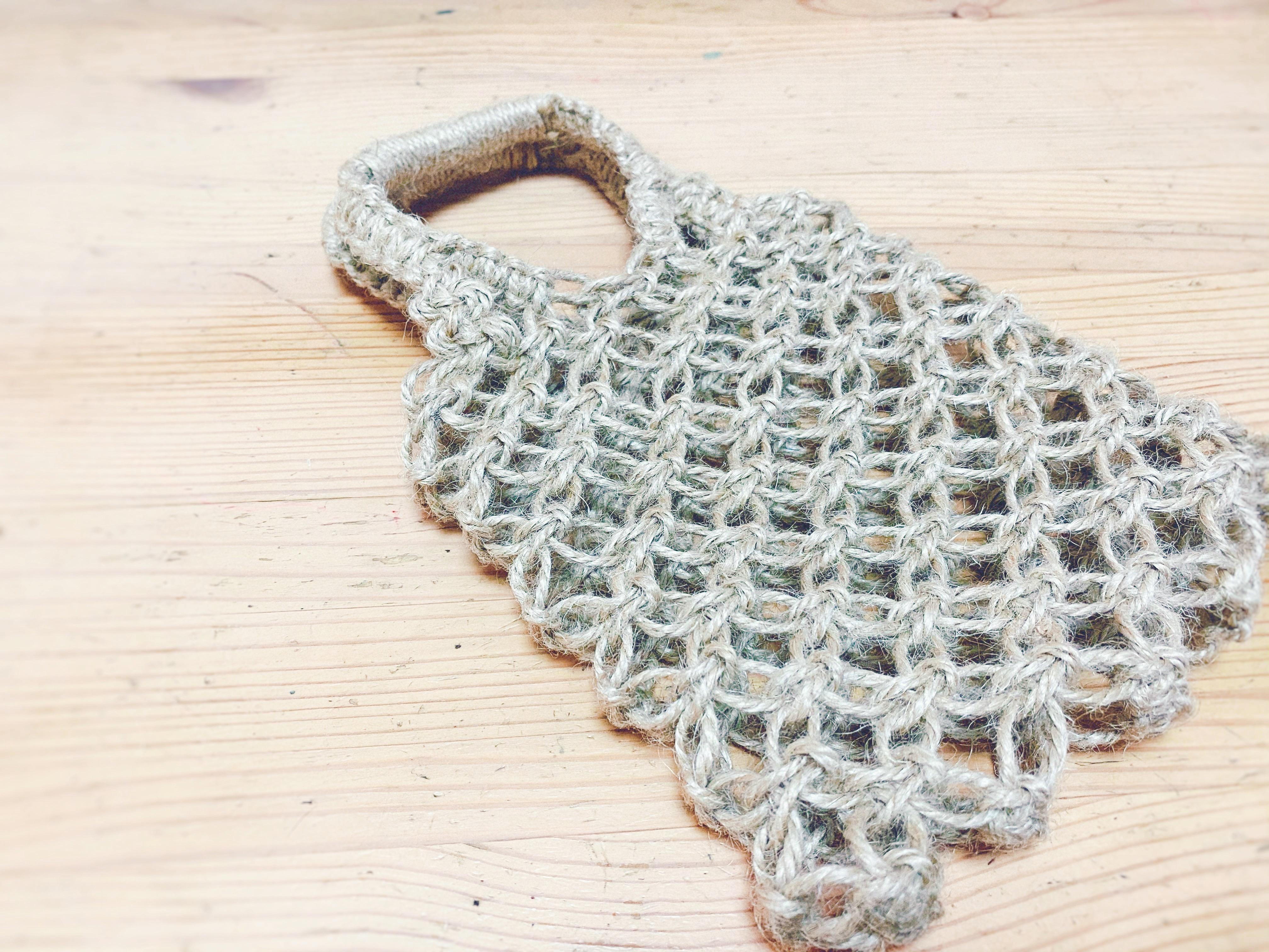 マクラメ編みの作品