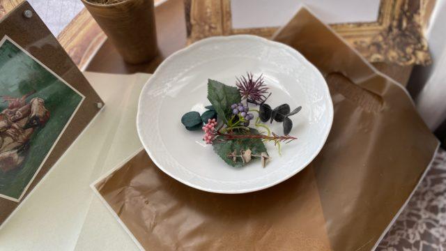 ハーバリウムの花材「葉もの・実もの」